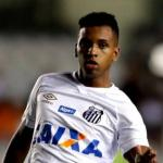 Rodrygo en un partido con el Santos / Youtube