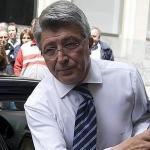 Enrique Cerezo, presidente del Atlético de Madrid / ABC.
