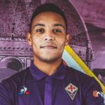 Luis Muriel, en su presentación / Fiorentina.