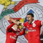 Rubén Días, con el Benfica / twitter
