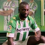Sabaly ya brilla con la camiseta del Real Betis