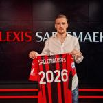 OFICIAL: El Milan renueva el contrato de Alexis Saelemaekers