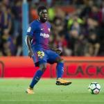 Samuel Umtiti durante un encuentro de Liga. Foto: FCBarcelona.es