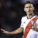 """Santos Borré no quiere irse de River """"Foto: MD"""""""