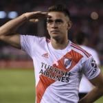 """Nueva oferta de Palmeiras por Santos Borré, con pie y medio fuera de River Plate """"Foto: Olé"""""""