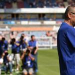 Maurizio Sarri, en partido con el Chelsea / twitter