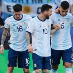 """Una baja de última hora en la Selección de Argentina """"Foto: Olé"""""""
