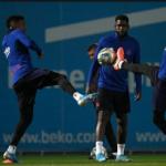 """Intercambio a la vista entre Barça y Manchester City """"Foto: El Mundo"""""""