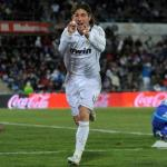 Sergio Ramos celebra un gol en el Alfonso Pérez/lainformacion.com/Getty Images