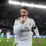 Sergio Ramos, con el Madrid / Twitter