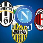 Escudos de los principales equipos de la Serie A /delinquentidelpallone.it