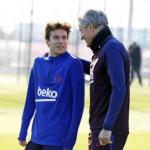 """El once tipo que usará Setién en el Barça """"Foto: El País"""""""