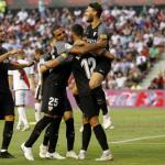 Sevilla, celebrando un gol esta temporada / twitter