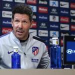 Simeone deja en el aire su futuro en el Atlético
