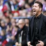 Diego Pablo Simeone en un partido / Foto: Atlético