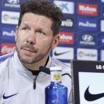 Simeone durante una rueda de prensa / Atlético de Madrid