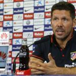 Simeone en rueda de prensa / Atlético