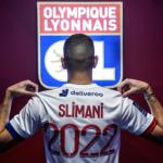 """Slimani, un delantero idóneo para el Olympique de Lyon """"Foto: OL"""""""