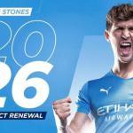 El City renueva a John Stones hasta 2026