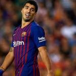 Luis Suárez en un partido con el Barça / Barça
