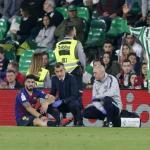 Luis Suárez, contra el Real Betis / twitter