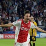 Tagliafico celebra un gol con el Ajax (FOX Sports)