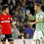 Take Kubo se debate entre Real Sociedad y Real Betis. Foto: Estadio Deportivo