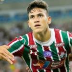 Pedro celebrando un gol con el Fluminense / defensacentral.com