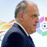 """""""El fútbol chino le muestra la realidad a Tebas: LaLiga no podrá empezar en mayo. Foto: Cadena COPE"""""""