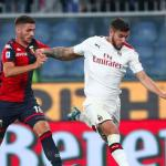 Gol clave de Theo en la victoria del Milán