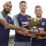 Vidal, Lenglet, Arthur y Malcom (FC Barcelona)