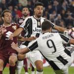 Partido entre el Torino y la Juventus