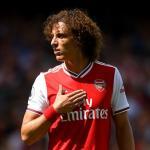 David Luiz en su debut con el Arsenal / directvsports.com