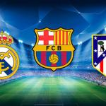 Escudos de los tres grandes del fútbol español / FC Barcelona Noticias
