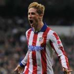 Fernando Torres celebra un gol / Atlético de Madrid.