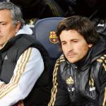 Rui Faria junto a Mourinho