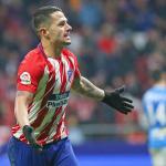 La última oportunidad de Vitolo en el Atlético / Twitter