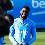 Umtiti se ríe del FC Barcelona. Foto: Mundo Deportivo