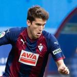Marc Cardona con el Eibar / Youtube