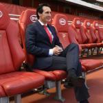 Unai Emery en el banquillo del Arsenal. Foto: ESPN