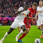 """Dayot Upamecano y sus problemas en las grandes citas """"Foto: Bundesliga"""""""