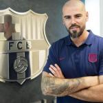 Valdés en su presentación como entrenador de la academia. / elespanol.com