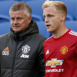 """¿Por qué no tiene sitio Van de Beek en el Manchester United? """"Foto: Daily Echoed"""""""