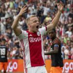Van de Beek confirma contactos entre el Real Madrid y el Ajax. FOTO: AJAX