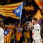 Ramos y Modric durante un clásico. / fcbarcelonanoticias.com