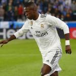 Vinicius en un partido / Real Madrid
