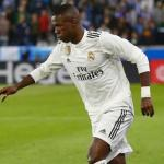 Vinicius Júnior en un partido / Real Madrid