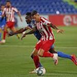 Vitolo cerrará su fichaje por el Getafe. Foto: Atlético de Madrid