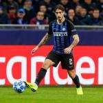 Vrsaljko, con el Inter / twitter