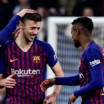 """El Leicester viene a por un defensa del Barça """"Foto: Marca"""""""